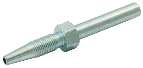 Straight Insert for 8.75 mm OD Hose, Mild Steel, Zinc Plated