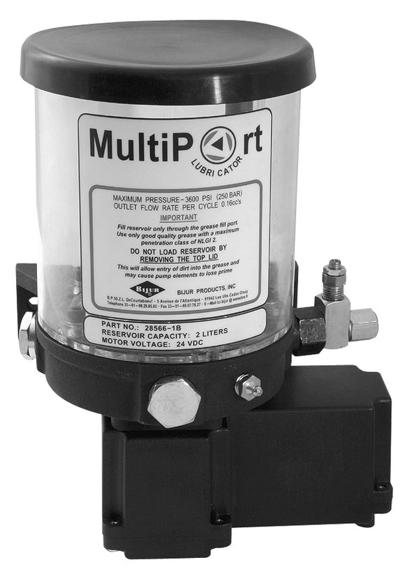 Bijur Multiport Pumps