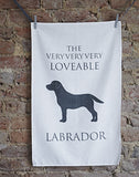 Labrador Tea Towel - Labrador GIft - Home and Hound