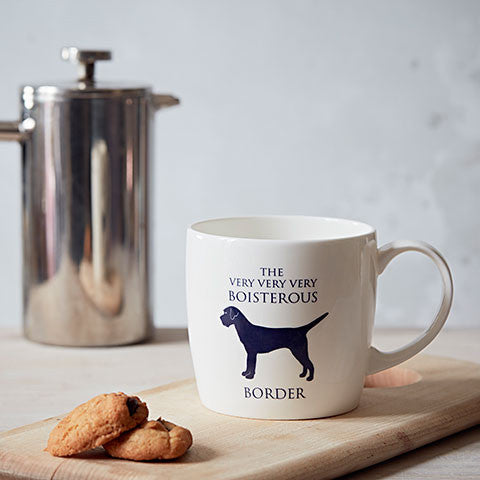 Border Terrier Fine Bone China Mug - home and hound