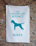 Bouncy Boxer Tea Towel - Home and Hound