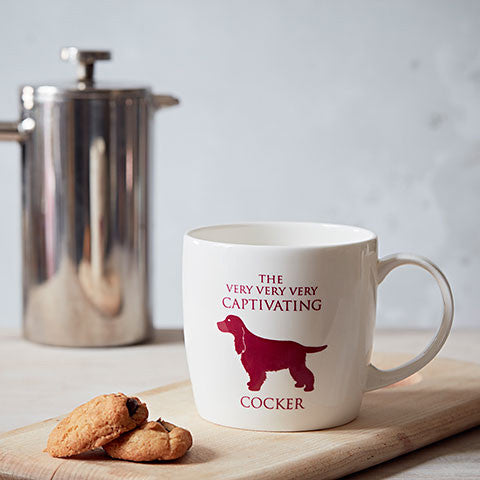 Cocker Spaniel Fine Bone China Mug in a Lifestyle Setting - Home and Hound