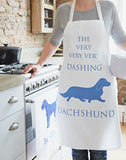 The Dashing Dachshund Apron by Bottle Green Homes