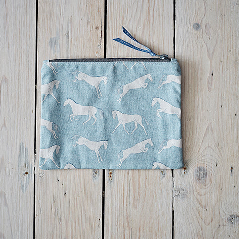 Eventing Horse Fabric Purse