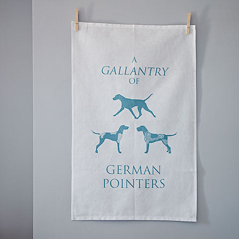 German Pointer Tea Towel - Home and Hound