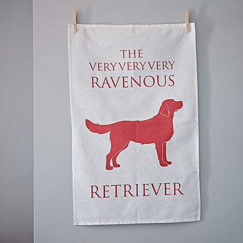 Golden Retriever Tea Towel - Home and Hound