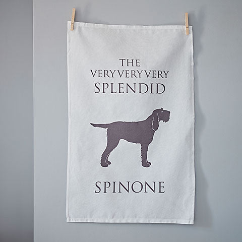 Italian Spinone Tea Towel - Home and Hound