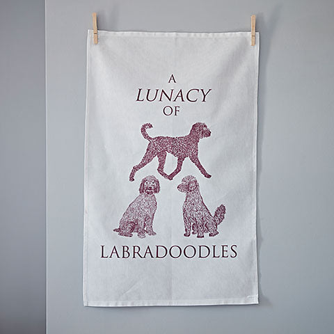 Labradoodle Tea Towel - Home and Hound