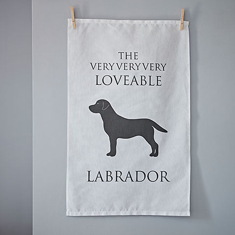 Labrador Tea Towel - Home and Hound