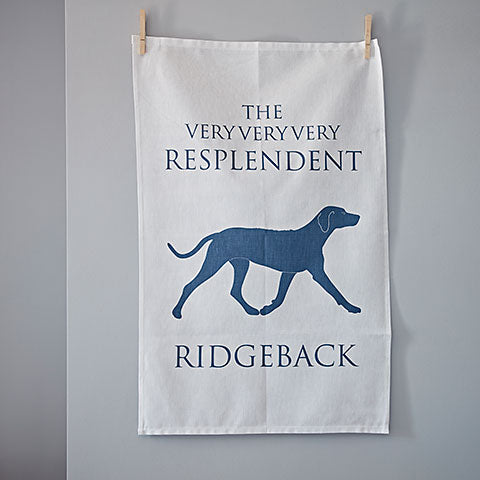 Resplendent Ridgeback Tea Towel - Home and Hound