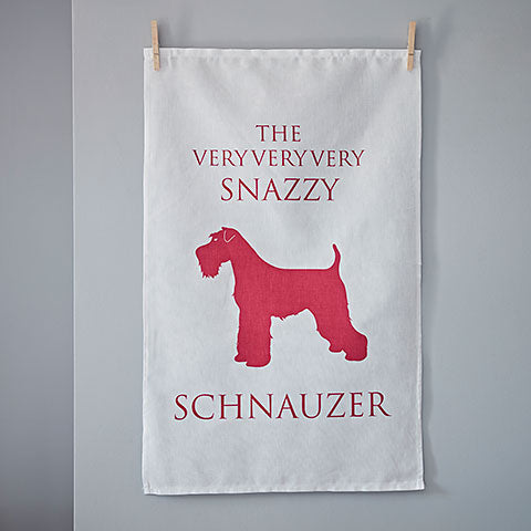 Schnauzer Tea Towel - Home and Hound