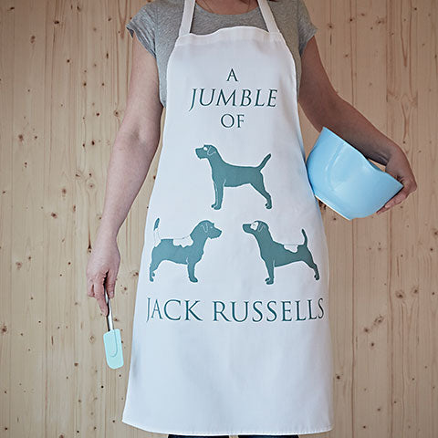 A Jumble of Jack Russells Apron