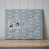 Dachshund Fabric Memo Board