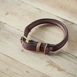 Chestnut Rolled Collar