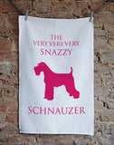 Snazzy Schnauzer Dish Cloth - Home and Hound