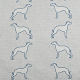 Whippet Cushion fabric detail by Bottle Green Homes