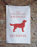 Golden Retriever Tea Towel - Bottle Green Homes  - 1