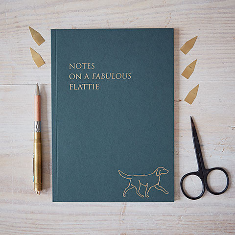 front cover of flattie notebook