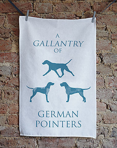 German Pointer Tea Towel