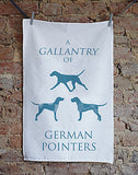A Gallantry of German Pointers - Home and Hound