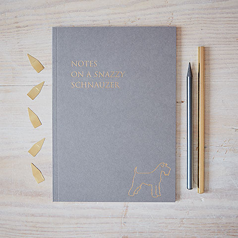 front cover of schanuzer notebook