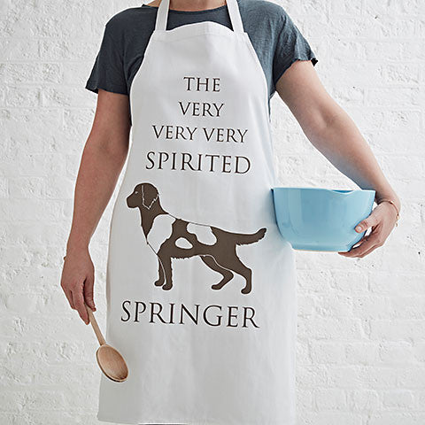 The Spirited Springer Apron - Bottle Green Homes  - 1