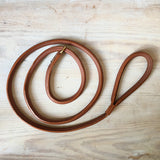 Rolled Leather Slip Lead