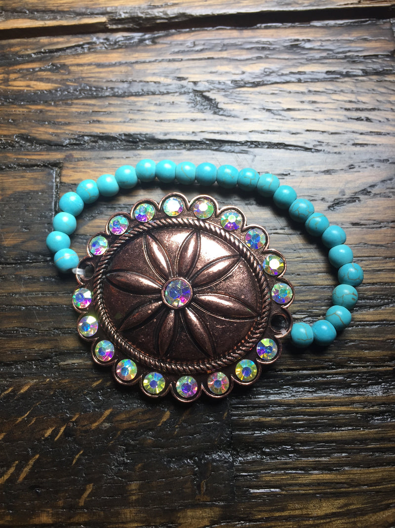 Concho Stretch Bracelets