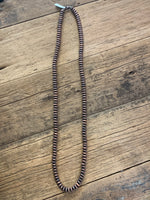 Long Copper Navajo Necklace