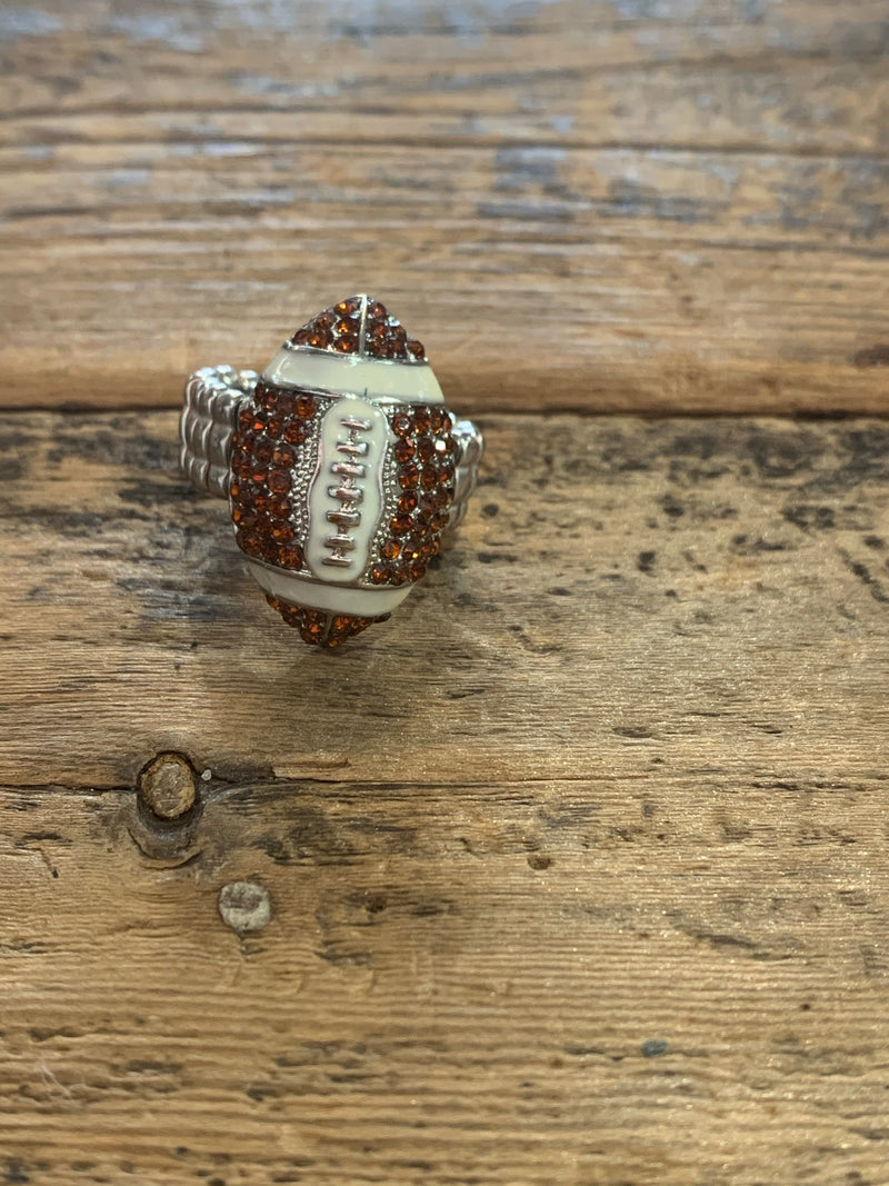 Football Stretch Ring