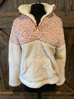 Half Zip Fleece Plush Pullover