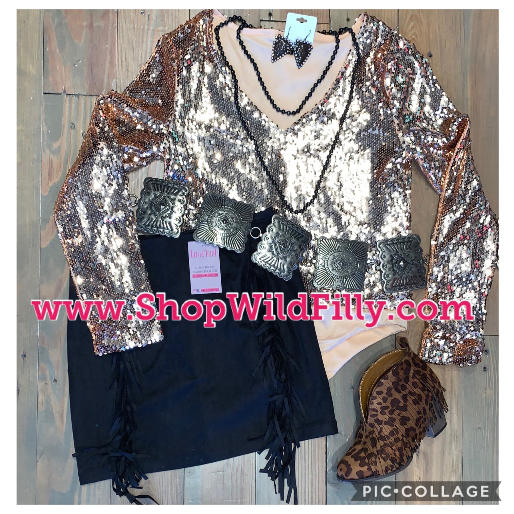 Sequin Bodysuit Black or Rose Gold
