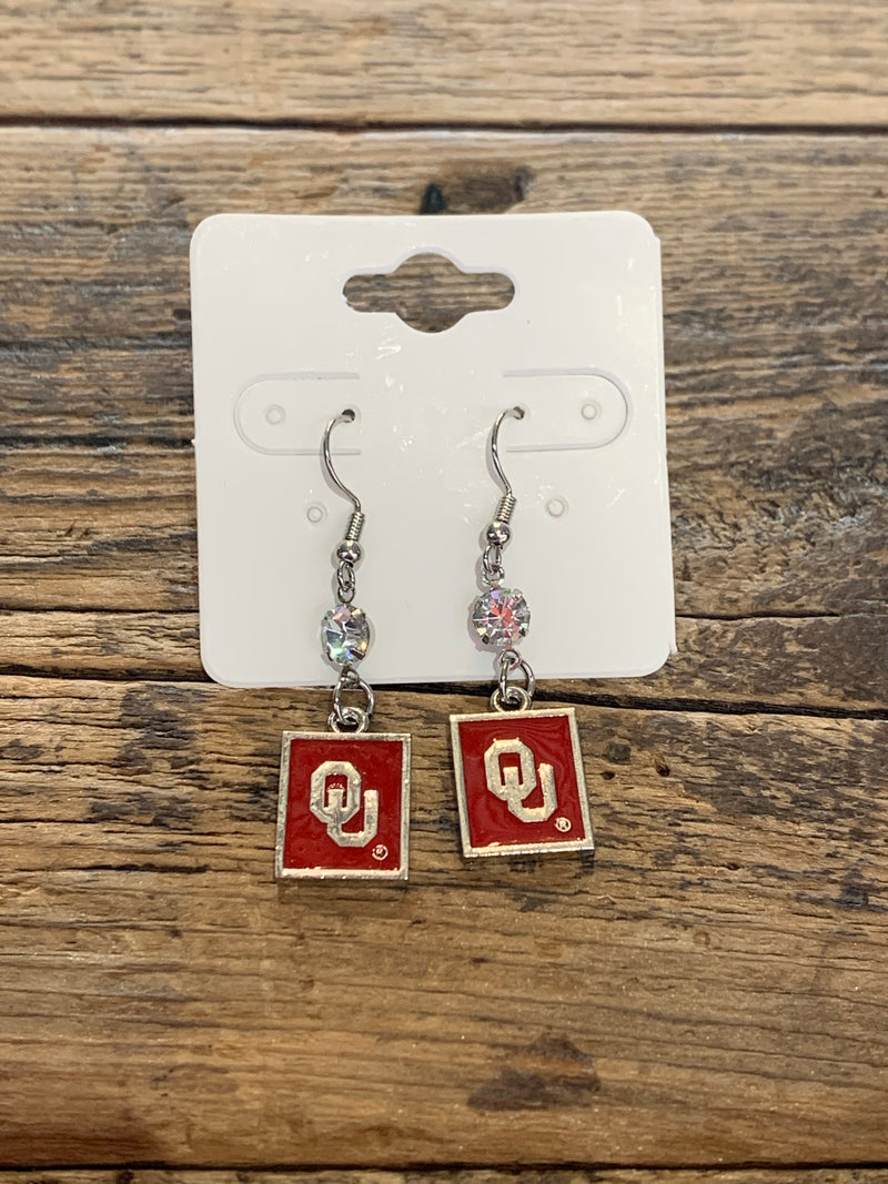OSU OU Dangle Earrings