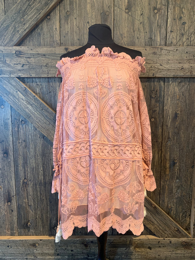 Lace Veda Mini Dress