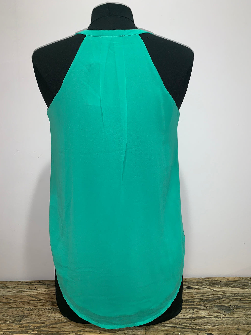 Aqua Crossover V Neck Top