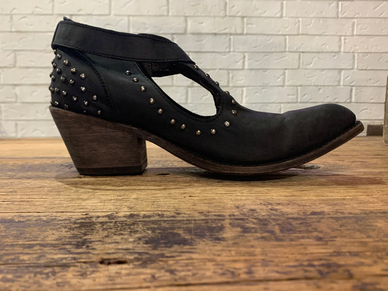 Black Liberty Booties Res American