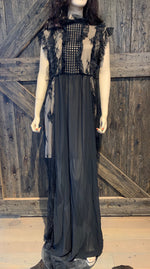 Frilled Maxi Dress