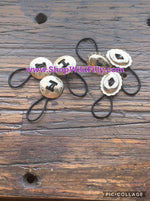 Concho Hair Ties