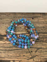 "60"" Glass Beaded Layering Necklace"