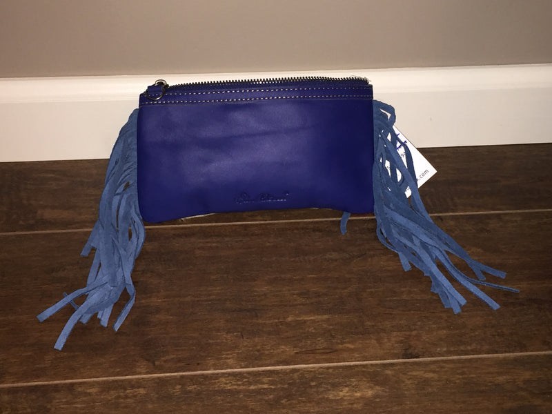 Leather Fringe Texas Clutch