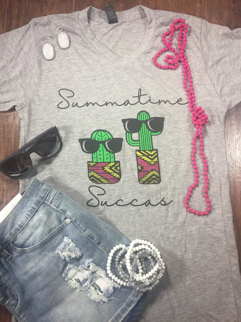 Summer Time Succas TShirt