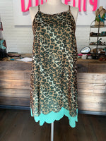 Leopard Mint Dress