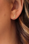 Lucky Star Gold Stud Earrings