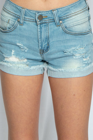 Hit the Lights Denim Shorts