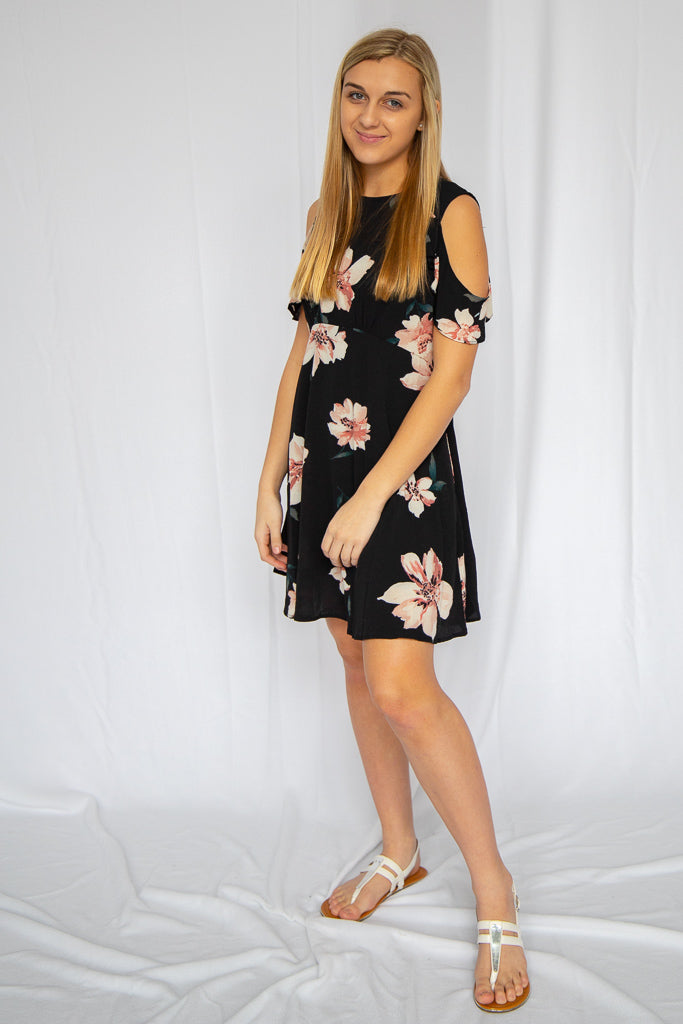 Beautiful Angel Floral Dress
