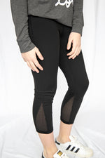 Beyond Basic Black Capri Leggings