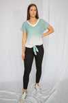 Minted Ombre Top