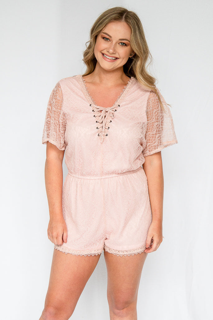 Oh Baby Pink Romper