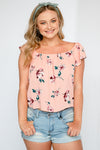 All Yours Floral Crop Top