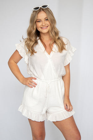 Little White Lies Romper